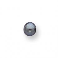 Black 4.5mm Half-Drilled Add-A-Cultured Pearl