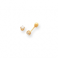 14k Reversible Cultured Pearl & Bead Earrings