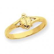 14k Ladybug Baby Ring