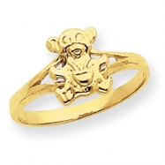 14k Teddy Bear Baby Ring