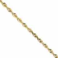 10k 2.75mm D/C Extra-Lite Rope Chain