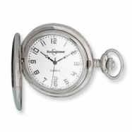 Swingtime Stainless Steel Quartz Pocket Watch