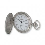 Swingtime Chrome-plated Brass Quartz Pocket Watch