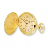 Swingtime Gold-plated Brass Quartz Pocket Watch