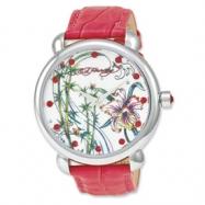 Ed Hardy Garden Pink Watch