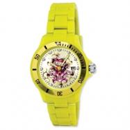 Mens Ed Hardy VIP Yellow Watch