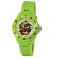 Ladies Ed Hardy VIP Green Watch