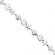 Sterling Silver Seashells Bracelet