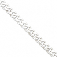 Sterling Silver 11mm Curb Chain anklet