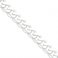 Sterling Silver 15mm Curb Chain anklet