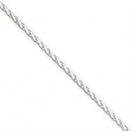 Sterling Silver 2mm Diamond-Cut Spiga Chain