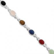 Sterling Silver Scarab Bracelet
