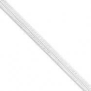 Sterling Silver 8.75mm Magic Herringbone Chain
