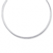 Sterling Silver 3mm Cubetto Necklace chain