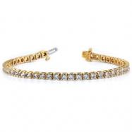 14k A Diamond tennis bracelet