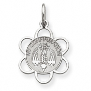 "Sterling Silver ""My Confirmation"" Disc Charm"