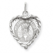 Sterling Silver My Confirmation Disc Charm