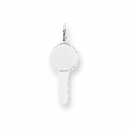 Sterling Silver Engraveable Key Charm
