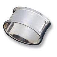 Sterling Silver Single Oval Napkin Ring