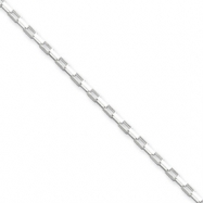 Sterling Silver 1.65mm Fancy Link Pendant Chain