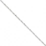 Sterling Silver .5mm Fancy Chain