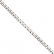 Sterling Silver 3.0mm Round Snake Chain bracelet