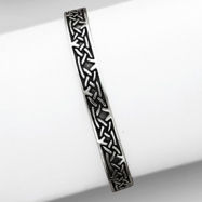 Sterling Silver Celtic Weave Bracelet