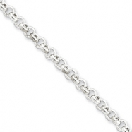 Sterling Silver 4.25mm Rolo Chain