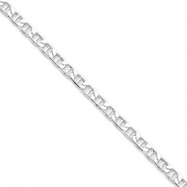 Sterling Silver 5mm Hollow Anchor Chain
