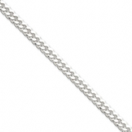 Sterling Silver 5mm Curb Chain