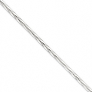 Sterling Silver Snake Chain