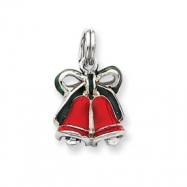 Sterling Silver Enamel Bells Charm
