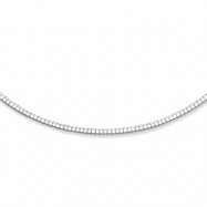 Sterling Silver Hammered Reversible Cubetto Chain