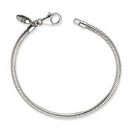 Sterling Silver Lobster Clasp Bead Bracelet anklet
