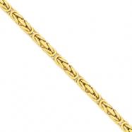 14k 6.50mm Byzantine Chain