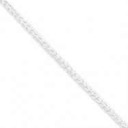 Sterling Silver Square Spiga chain