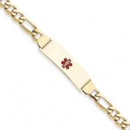 14k Medical Jewelry Bracelet