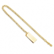 14in Gold-plated Large Belt Watch Chain