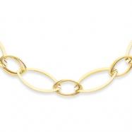 14K Fancy Link Necklace chain