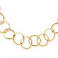 14K Circle Necklace chain