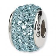 Sterling Silver Reflections December Full Swavorski Crystal Bead