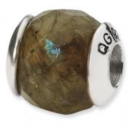 Sterling Silver Reflections Labradorite Stone Bead