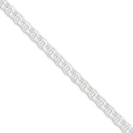 Sterling Silver 5.5mm Charm Link