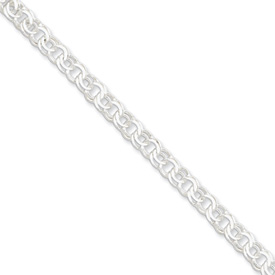 Sterling Silver 6mm Charm Link