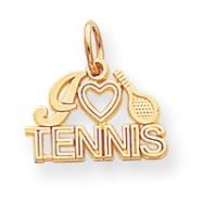 10k Tennis Charm