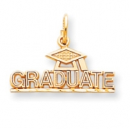 10k Graduate with Cap Charm