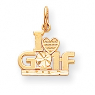 10k Golf Charm