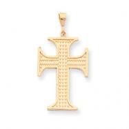 10k Cross Charm