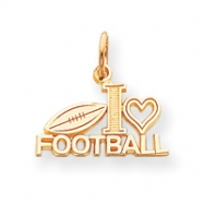 10k Football Charm