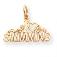 10k Swimming Charm